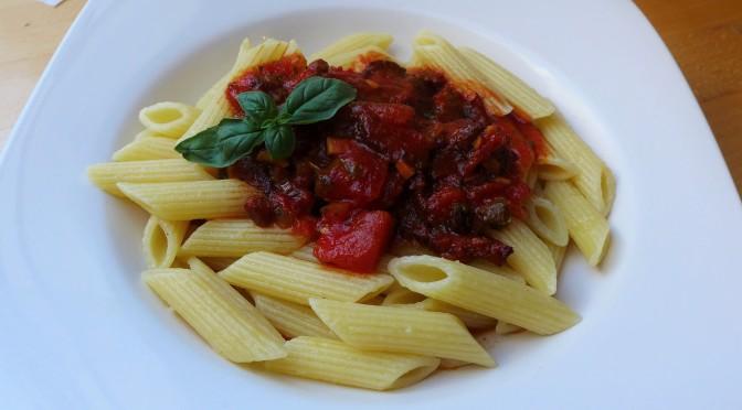 Rezept: Rauchig scharfe Tomatensoße