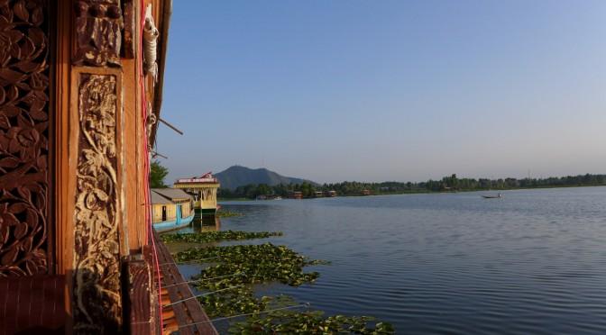 Wohnen auf dem Hausboot in Srinagar- Kashmir Indien