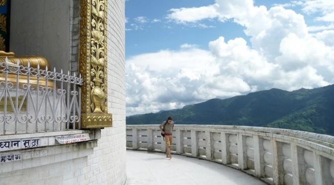 World peace pagoda Pokara/ Nepal