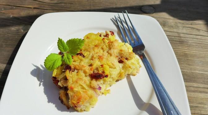 Rezept: Omas hessischer Kartoffelauflauf